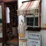 ハンドメイド・リサイクル雑貨のお店charmに行ってきました。フジケン季節館の中にある可愛いお店です。