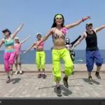 ズンバ!初体験! ストレス発散に最高のダンス! 今朝は、YouTubeでズンバ!