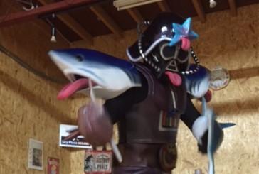 7月20日 こどもはっちに「悪役ジョーズベイダー」登場?!速報!!! ホッキーガイがやってくる!