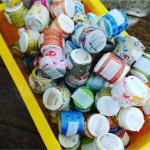 ペットボトルのキャップ集めに、ご協力お願いします! 三戸町ママパパフェスタで、使用します。