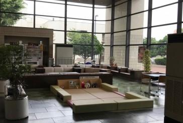 八戸市役所にキッズスペースが! 女性市会議員出産のおかげかも?